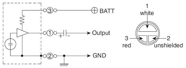 我的咪头接入功放电路,用不了啊,是不是该加咪头放大电路,s8050三极管