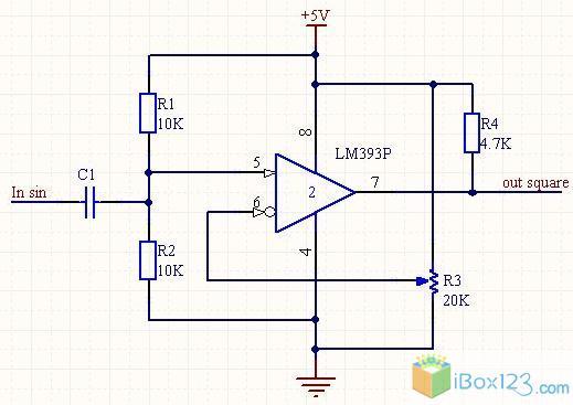 狗日的lm393单电源正弦转方波总算被搞定了